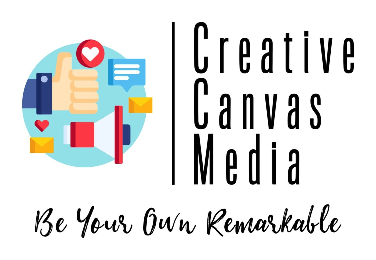 Creative Canvas Media Agency Logo